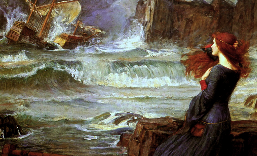 """Miranda – The Tempest"" by John William Waterhouse"